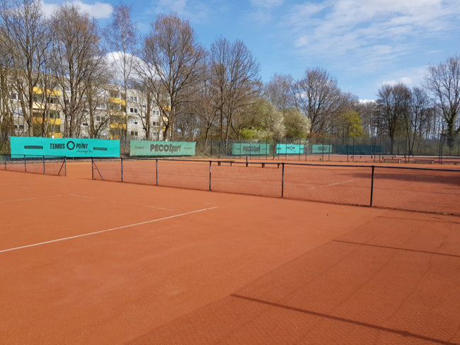 WTSVC Tennisplätze April 2021